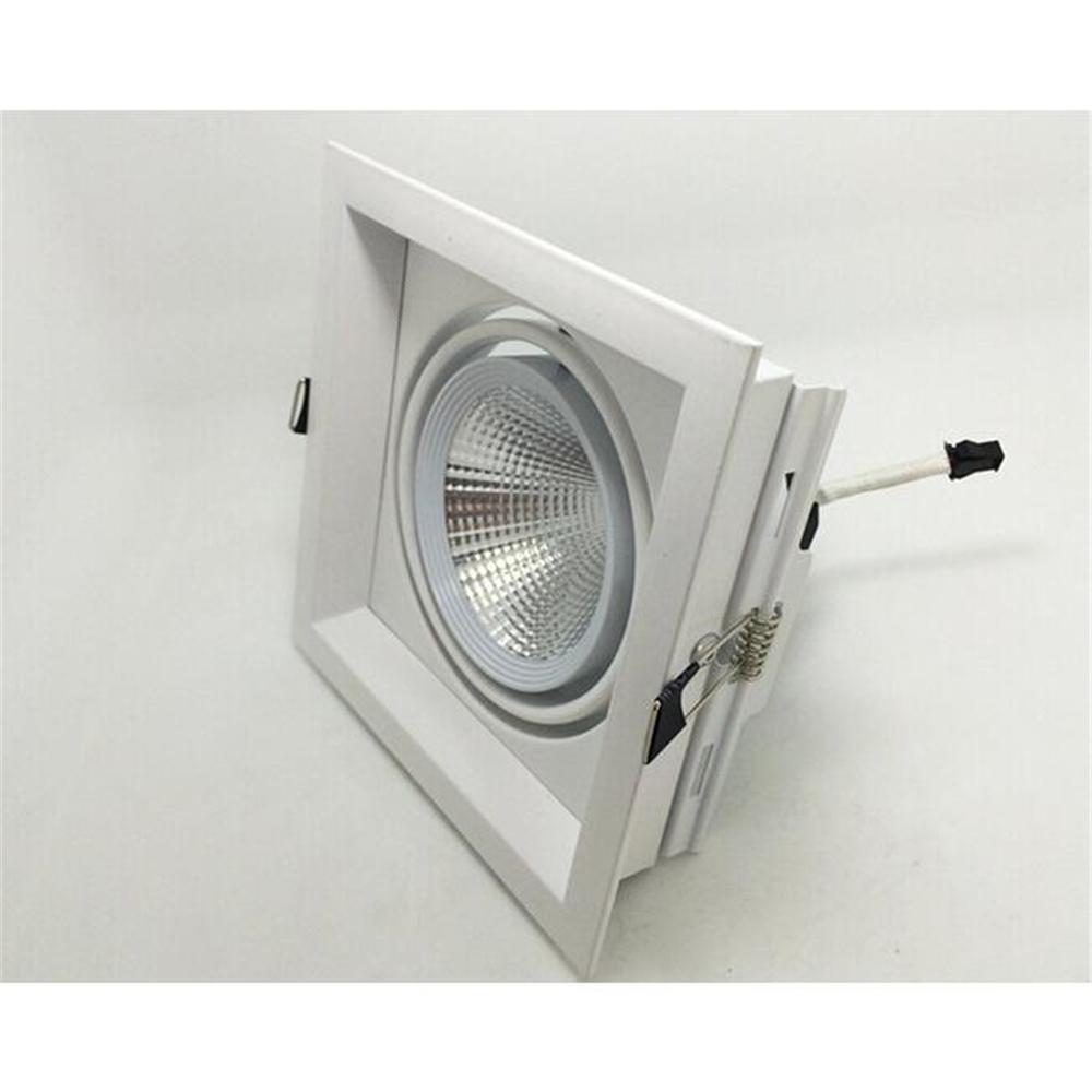 Free Shipping 10W COB LED Downlight Bean Pot Lamp Adjustable Have Warm White / Cool White Light(China (Mainland))