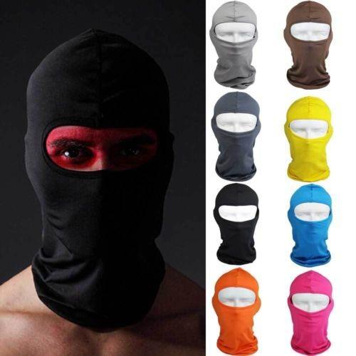 Free shipping Unisex Outdoor Full Face Helmet Protection Ski Neck Cycling Motorcycle Mask Lycra Balaclava Headwear(China (Mainland))