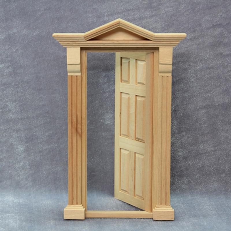 Миниатюрная дверь своими руками 19