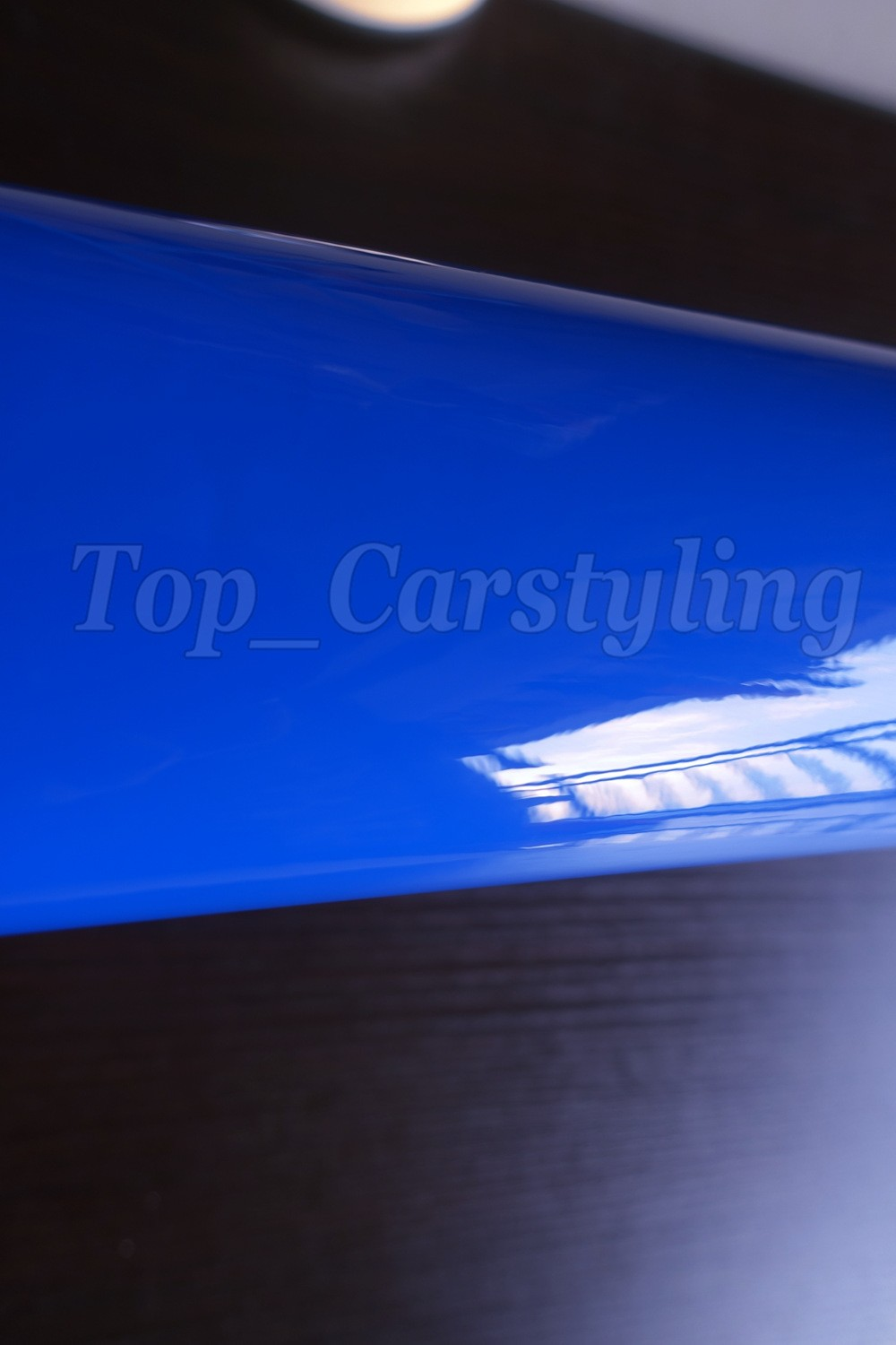 3 LAYER GLOSSY DARK BLUE CAR WRAPPING FILM WITH AIR FREE 3m 1080 HEXIS APA ARLON BLUE GLOSS SHINY WRAPPING FOIL (4)
