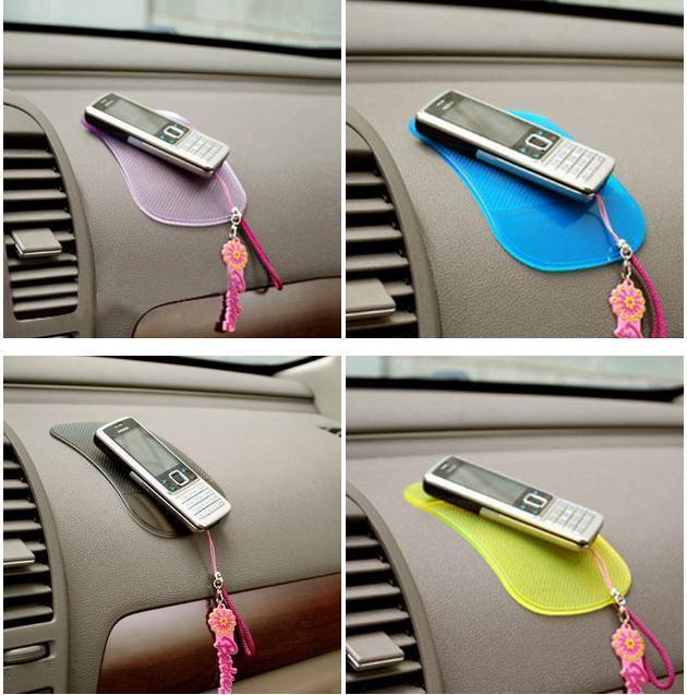 Mobile phone vehienlar slip-resistant pad superacids slip-resistant pad magic slip-resistant transparent slip pad