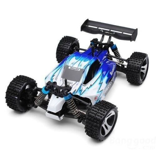 F11743 Wltoys A959 2.4G 4CH 45KM/H 4WD Shaft Drive RC Car High Speed Stunt Racing Car Remote Control Power Off-Road Vehicle