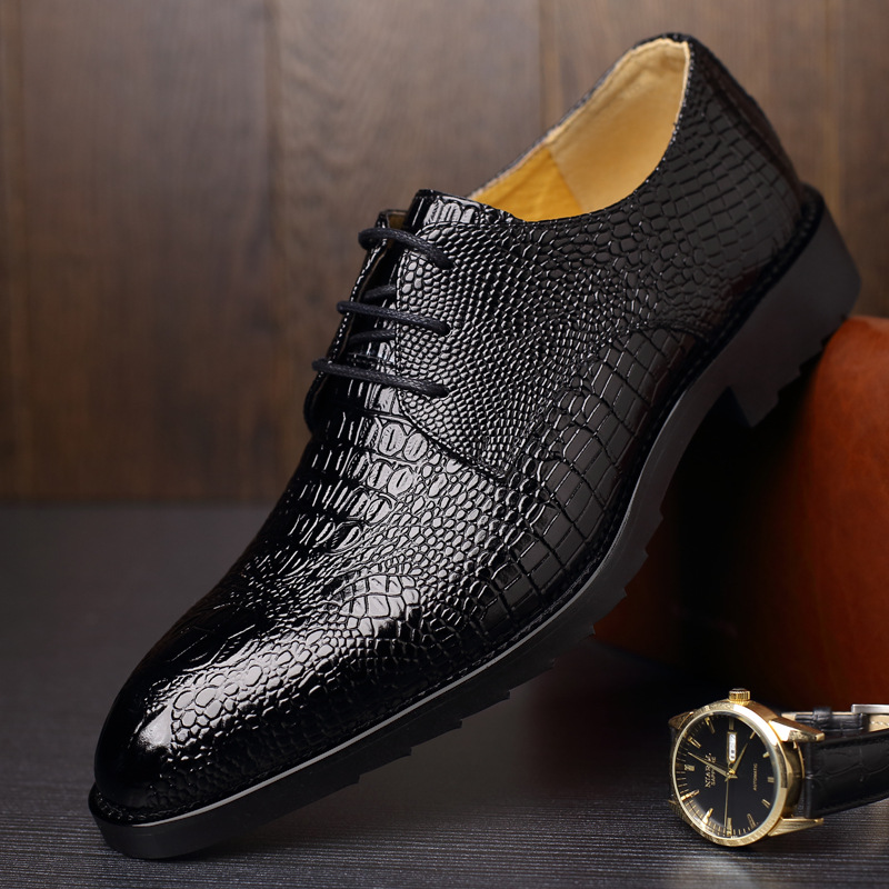 Tidog The new 2016 spring men's leather shoes business shoes wedding shoes(China (Mainland))