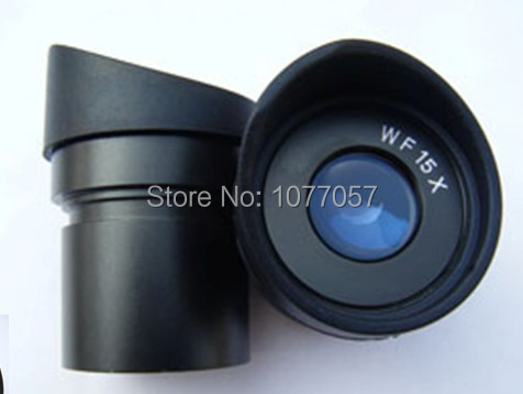 Factory Sale !  Brand new,Wide field  WF15x -15mm  Eyepiece For Stereo Microscopes  with 30mm Dia Eyepiece tube<br><br>Aliexpress