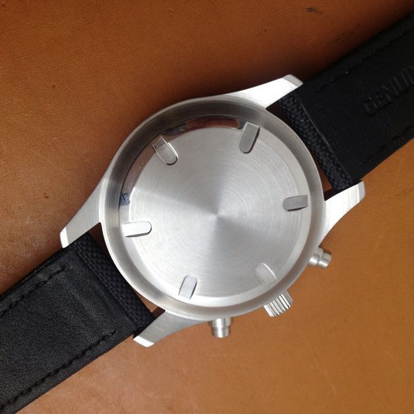 42 ММ Парнис Дата День Хронограф Кварцевый Механизм мужские Часы Черный Ремни Белый Номера Наручные Часы