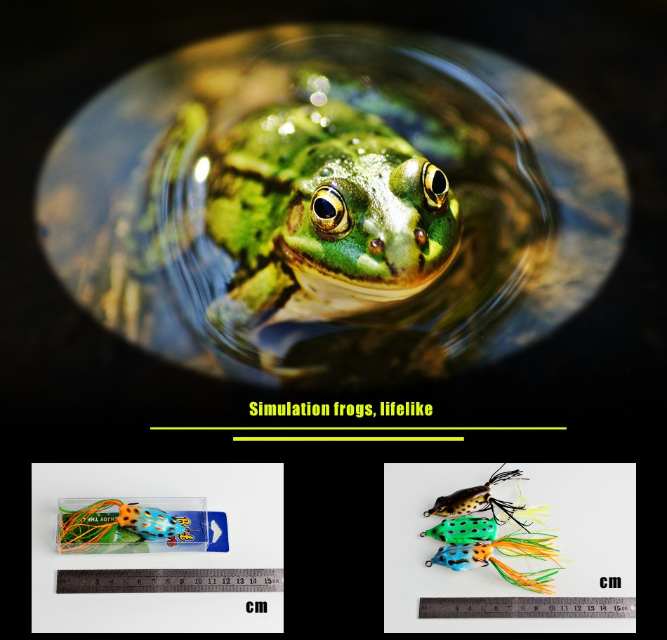 Saltwater freshwater fishing lures frogs top water fishing for Frogs for fishing