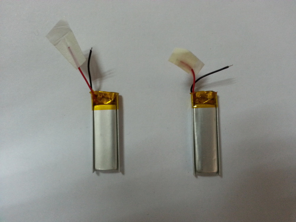 [ Factory direct supply lithium polymer battery 371029 ] high energy density for longer life plus cable 3.7V(China (Mainland))