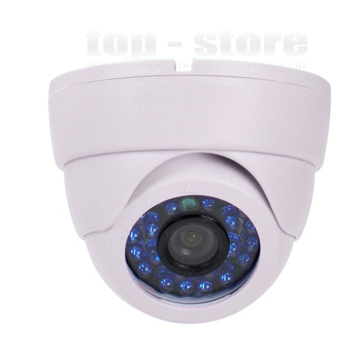 Hot 800TVL CMOS Color IR-CUT Cctv Security Camera Video Dome Home Indoor<br><br>Aliexpress