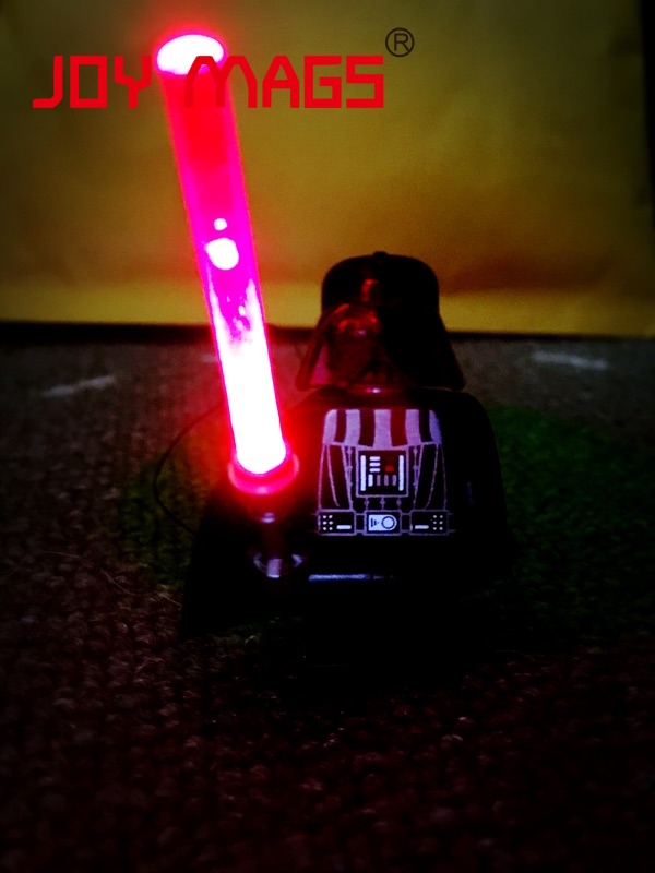 LED Building Block Minifigure Accessory Shiny Sword Toy Compatible with Lego Red(China (Mainland))