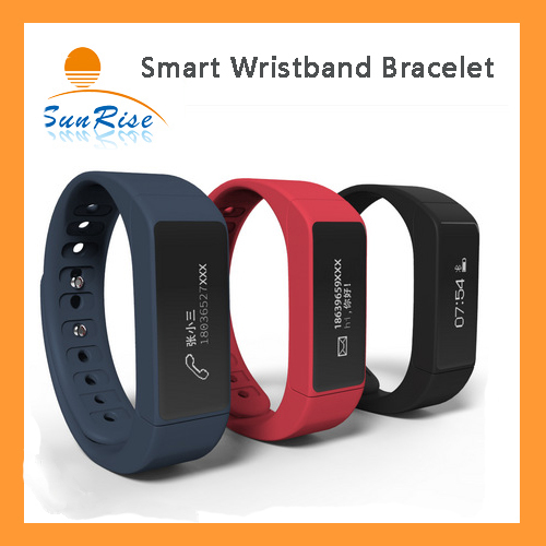I5 Plus Smart Wristband Bracelet Bluetooth 4.0 with Sleep Tracker Health Fitness for Android IOS iPhone waterproof Sports Watch(China (Mainland))