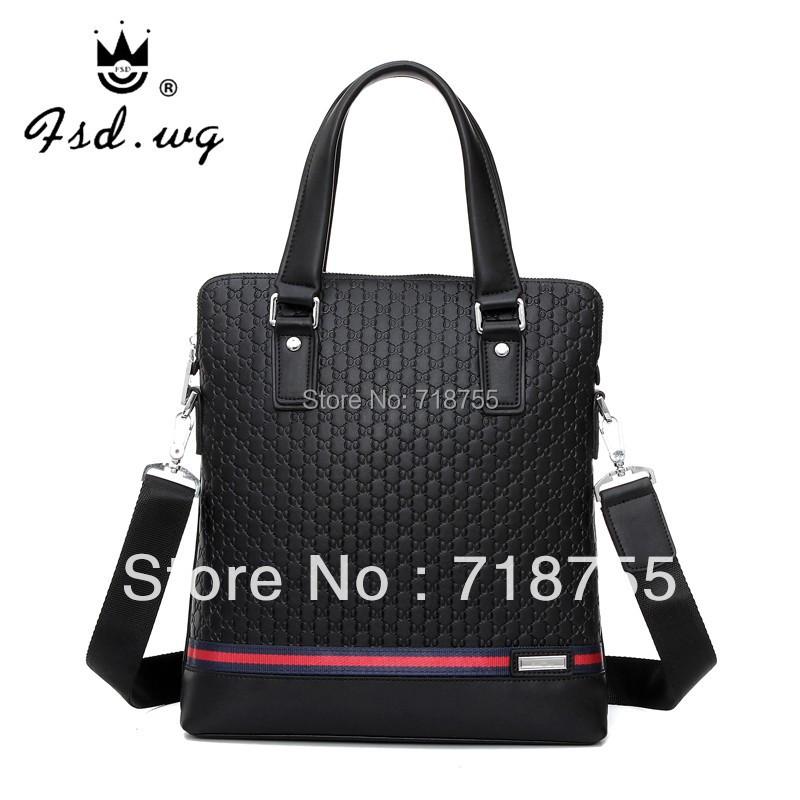 New arrival brand men bag totes 100% genuine leather handbags Cheap shoulder bags Black men messenger bag Hot fashion man bags(China (Mainland))