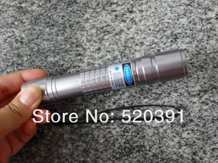 Фотография high powered 450nm 10w 10000mw Hot focusable blue laser pointers flashlight burning match cutting+5 caps+gift box+Free Shipping