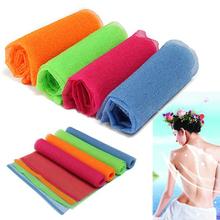 5PCS Nylon Mesh Bath Shower Body Washing Clean Exfoliate Puff Scrubbing Towel Cloth(China (Mainland))