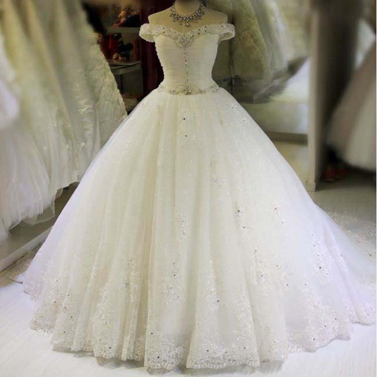 2017 Новая Мода Свадебное Платье С Длинным Sexy Vintage Зашнуровать Плюс Размер Кристалл Линия 2017 Свадебное Платье Сшитое