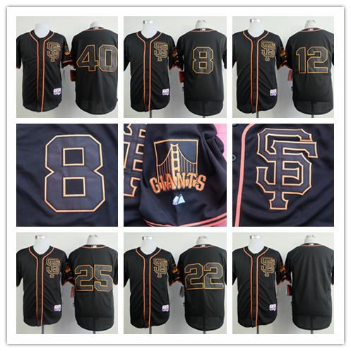 2015 Personalize Baseball Jersey 40 Bumgarner 25 8 22 12 Panik youth baseball jersey color white maroon size medium