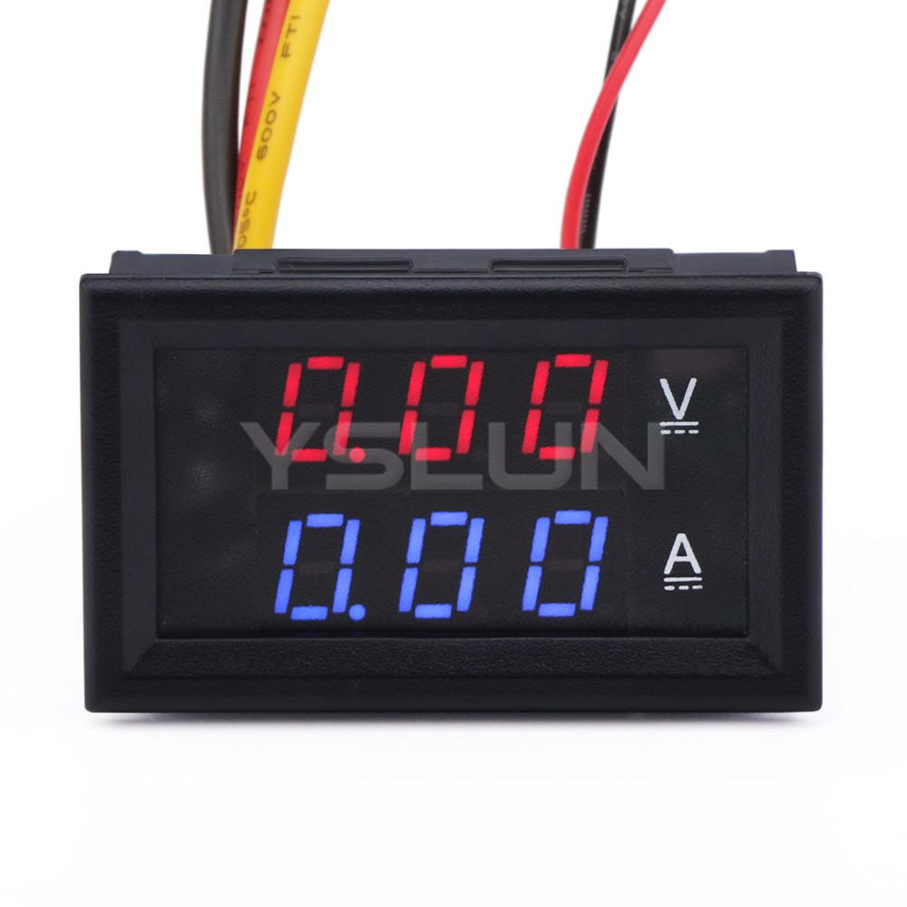 Dc Digital Voltage Meter : In volt amp meter dc v a digital voltmeter