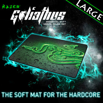 Razer Goliathus 2013 Speed Edition Gaming mousepad, large size 444*355*3 mm Orignal& Brand New in BOX, Free shipping