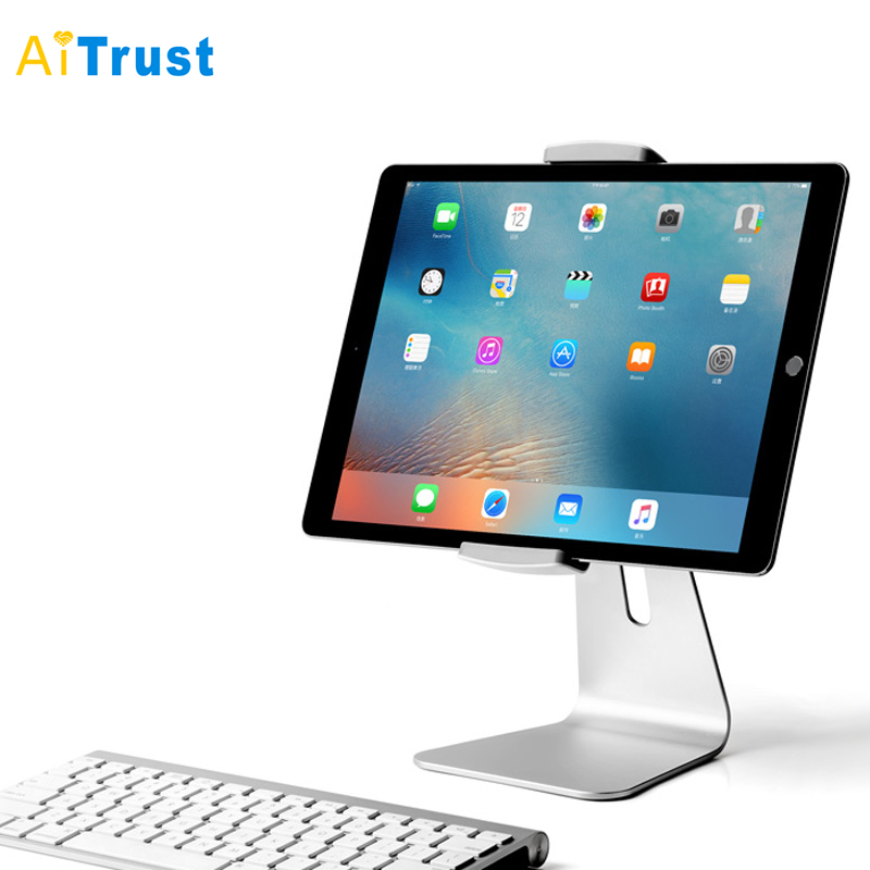 AP-7S Aluminum Alloy 7-13 inch Tablet PC Stand Screen 360 Rotation Viewing Angle 180 Degree Adjustable for iPad Mini Pro Surface(China (Mainland))