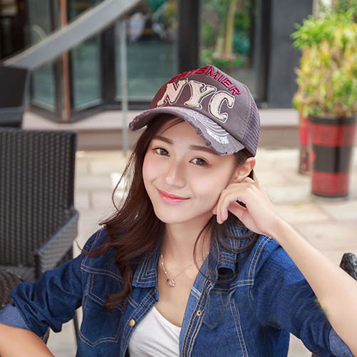 2015 New Baseball Cap Women Men Snapback Unisex Breathable Summer Cap Mesh Casual Outdoor Sport Letters Trucker Hat Adjustable(China (Mainland))