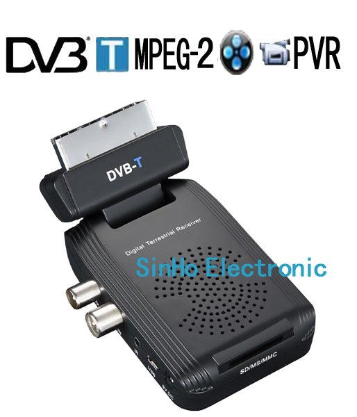 DVB-9013/Support SD Card Mini Scart Terrestrial Receiver Tv Tuner Dvb-t Freeview Receiver Box HDTV(China (Mainland))
