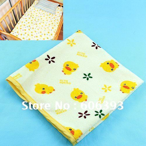 P80 Baby Infant Home Travel pure Cotton diapers Mat,Baby Changing Mat Cover Waterproof Pad,Baby supplies L/M/S Size(China (Mainland))