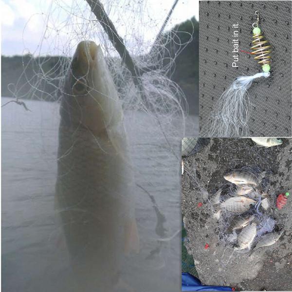 все рыболовные снасти изо  сетки