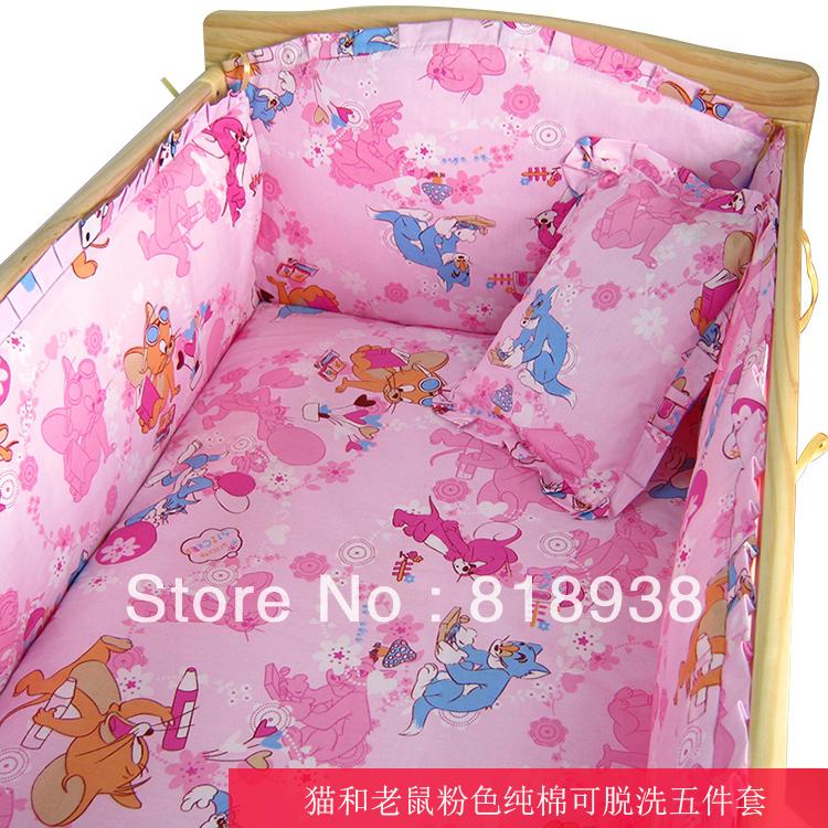 С наполнитель! младенцы детская кроватка постельные принадлежности комплект и продать на aliexpress