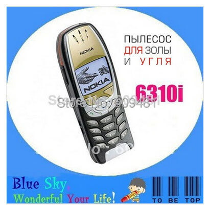 Cheap refurbished phone 6310i russian language russian keyboard(China (Mainland))