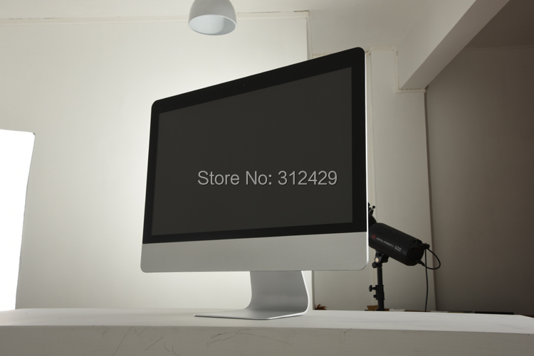 27inch All In One computer with 3.4 G quad-core CPU ,HD7660D GPU,4G/SSD128g,desktop slim home all in one PC(China (Mainland))