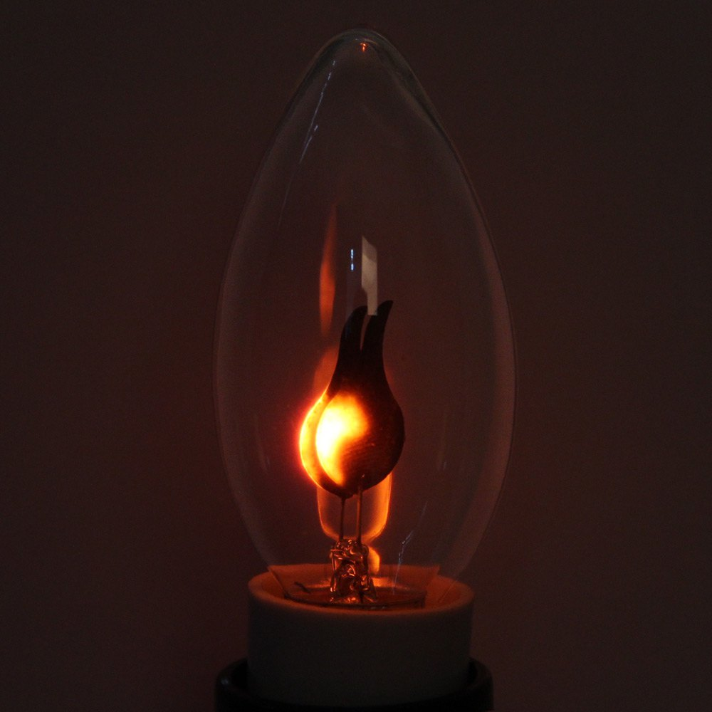 On Sale YouOKLight 1.6W E14 120Lm 220V Flicker Flame Light Bulb Red Light LED Corn Lamp(China (Mainland))