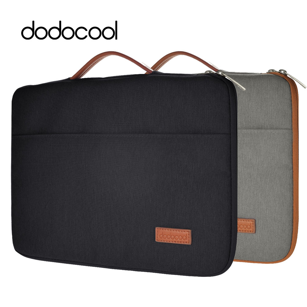 "dodocool 13 Inch Laptop Bag for Macbook 13 Case Nylon Zipper Sleeve Carrying Case Notebook Protective Cover for 13"" MacBook Pro(China (Mainland))"