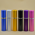 5ml Travel Mini Refillable Portable Empty Atomizer Perfume Bottles Scent Pump Spray Case parfum airless pump cosmetic containers