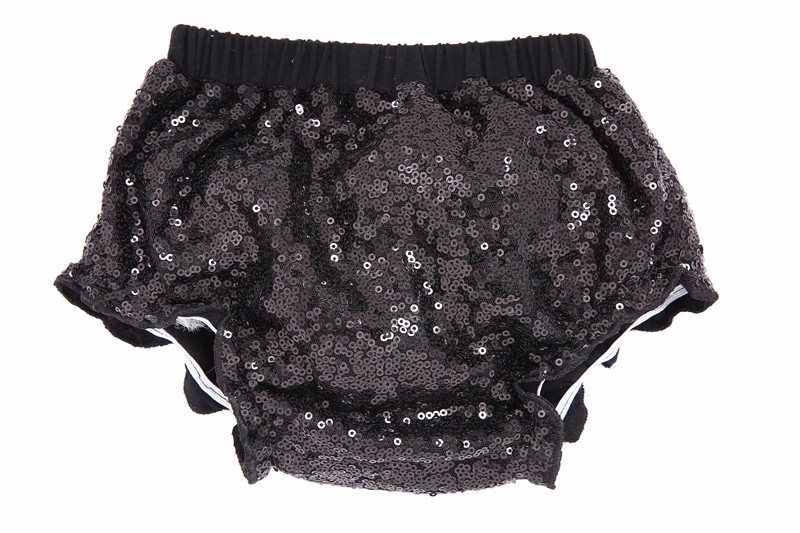 Newborn Girls Shorts Sequined Baby Shorts Girl Adorable Diaper Cover Bloomers Infant Baby Sequin Rosette Shorts Kids Shorts