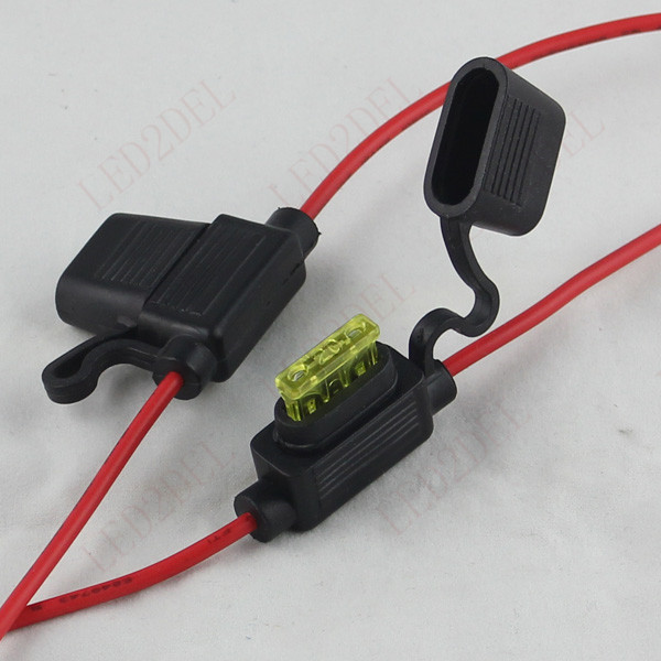socket mk picture more detailed picture about medium standard medium standard 10a 15a 20a atc ato fuse box holder socket waterproof cable for auto