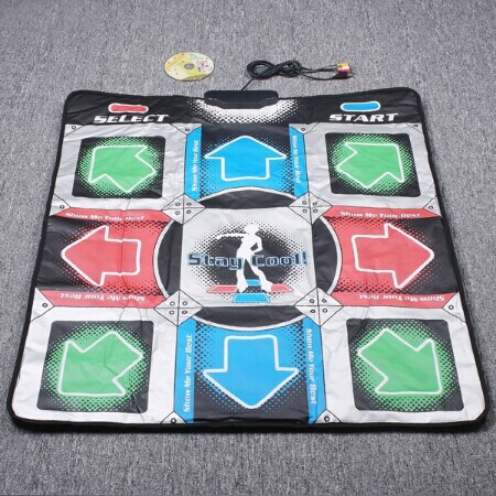 2016 Top Quality Dance Pad Non-Slip Dancing Step Dance Game Mat Pad for PC & TV(China (Mainland))