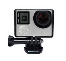 Standard Border Frame With Base Mount For Gopro Hero 4 3 3+ Action Camera Protective Housing Case Cover For Go pro Accessories
