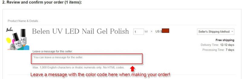 Belen leave color code