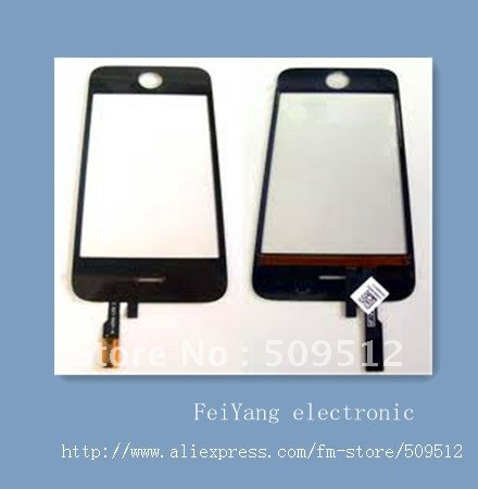 50pcs /lot Mis Style glass digitizer for iphone 3G / 3GS touch screen Free shipping by DHL(China (Mainland))