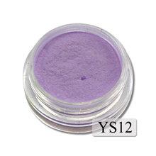 1g Ultrafine Fluorescent Nail Powder Neon Phosphor Colorful Nail Art Glitter Pigment 3D Glow Luminous Dust Decorations YS01-12-1(China)