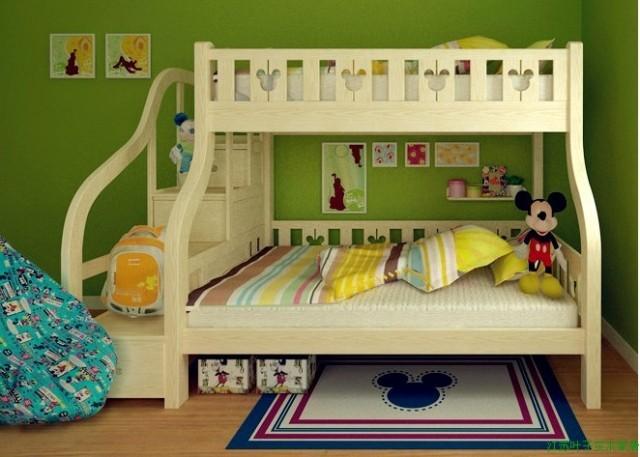 De los ni os de cama litera literas cama camas literas de - Literas infantiles de madera ...