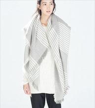 za major Winter 2016 Tartan Scarf Desigual Plaid Scarf cuadros New Designer Unisex Acrylic Basic Shawls Women's big size Scarves(China (Mainland))
