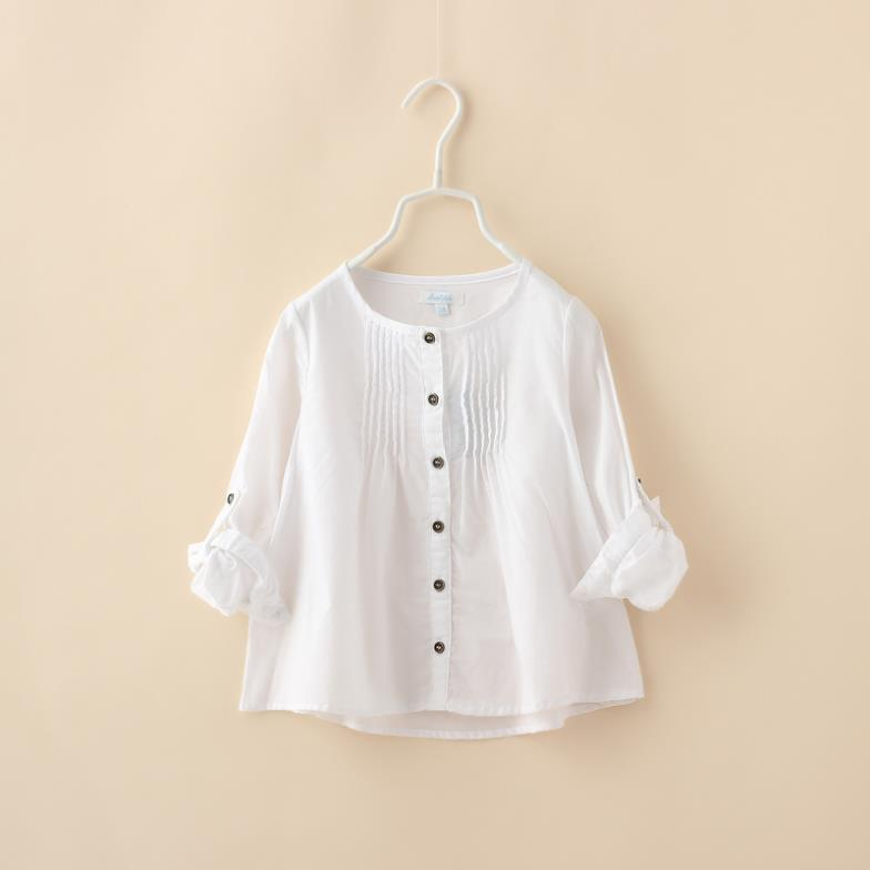 Organic Cotton School Blouse 44