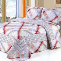 2015  good quality  96-2 colorful prewash bedcover bedding set