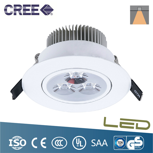 Led Recessed Lighting For Drop Ceilings : W led down light ceiling recessed lamp white with