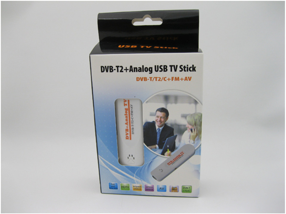 Digital Satellite DVB t2 USB tv Stick Tuner with Antenna Remote HD TV Receiver DVB-T2/T/C/FM/Analog for Europe