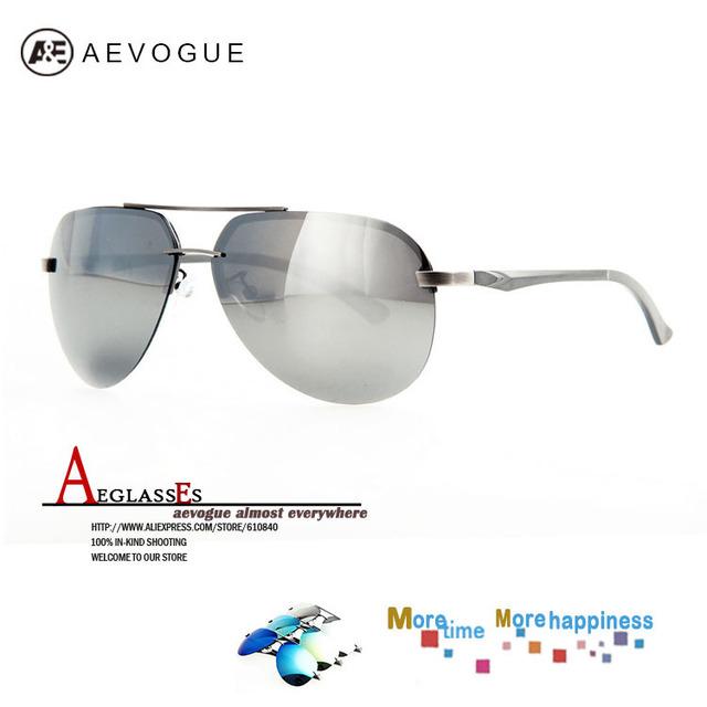 Aevogue бесплатная доставка Al - алюминиевые-mg сплава рамка жк-поляроид мужчины поляризованных линз горячая распродажа марка солнцезащитные очки UV400 AE0180