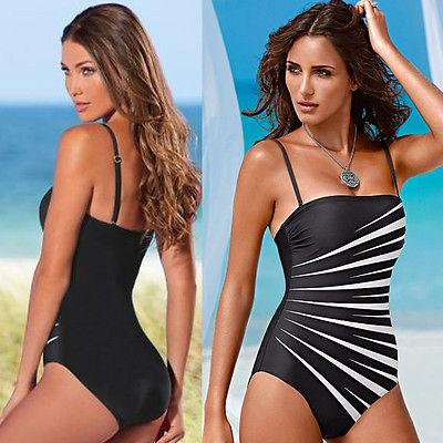 Sexy Women Swimwear Swimsuit Monokini Padded Bikini Bathing Beachwear(China (Mainland))