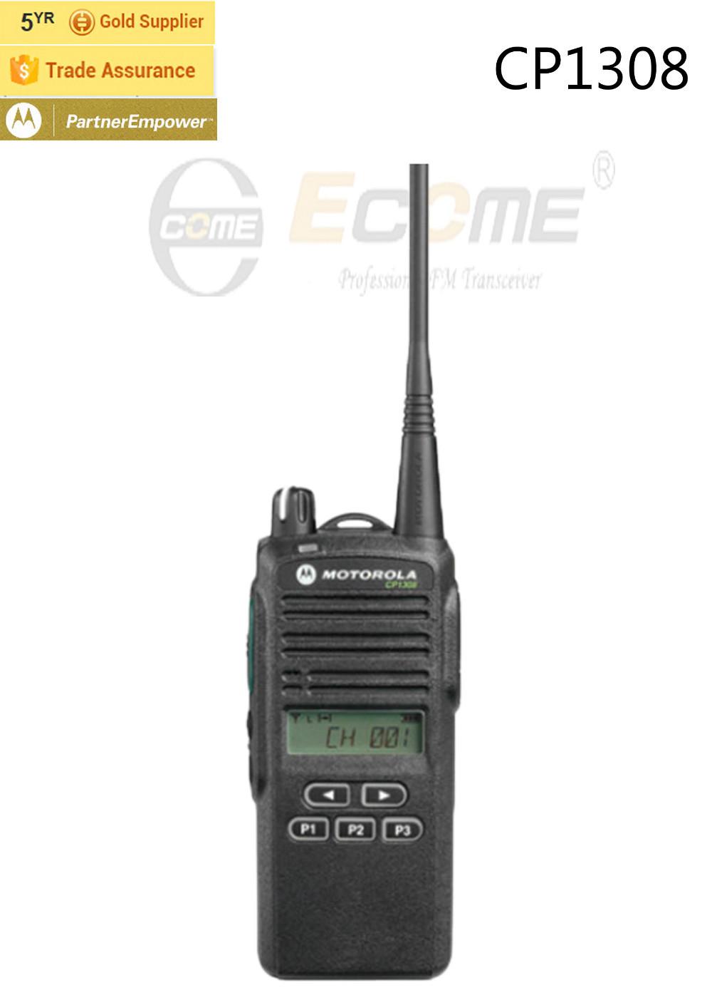 Motorola UHF CP1308 Walkie Talkie(China (Mainland))