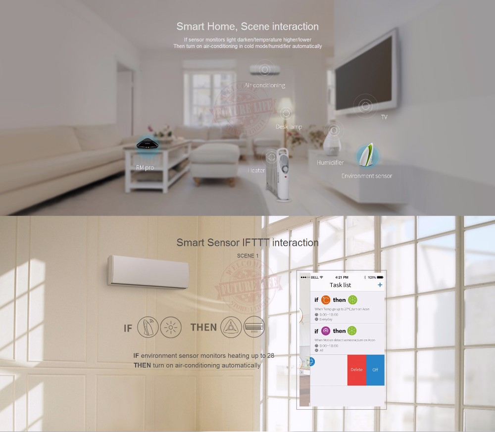image for Broadlink RM Mini3 RM Pro RM2 Universal Smart Home Automation Intellig