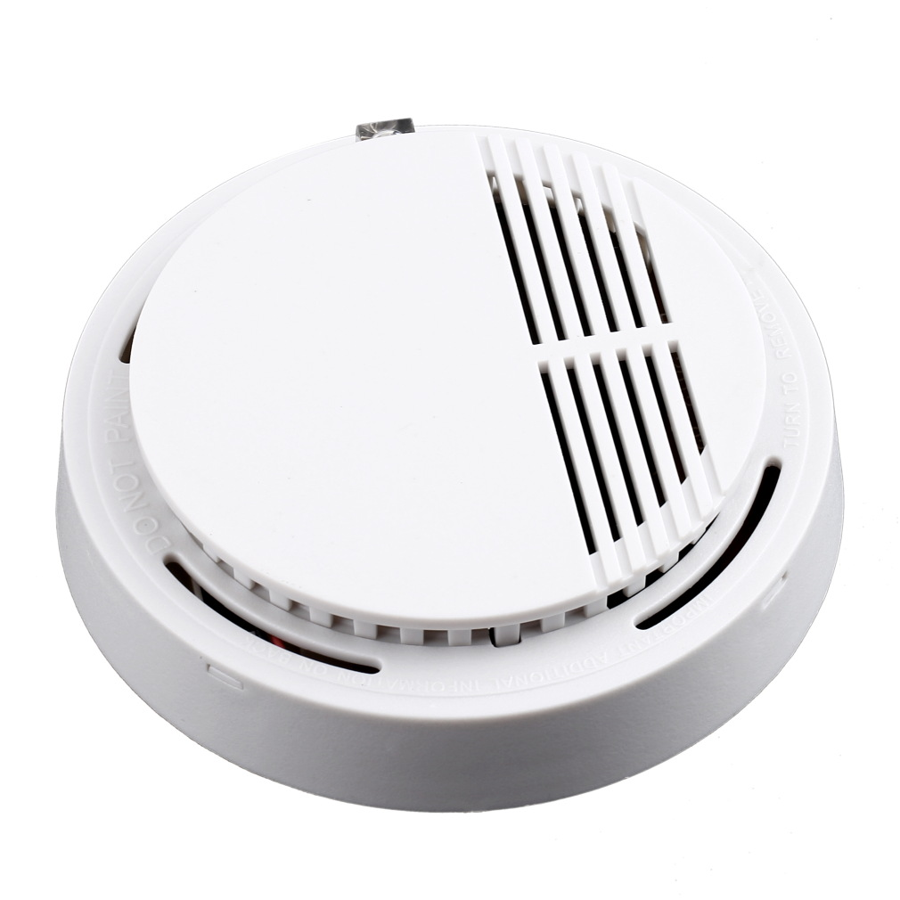 2016 Stable Photoelectric Wireless Smoke Detector High Sensitive Fire Alarm Sensor Monitor for Home Security